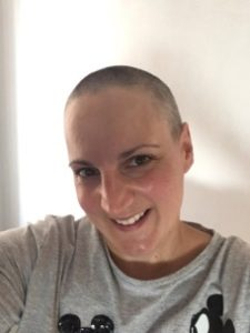 Charity fundraiser Emma Ashmore, shows us her new haircut