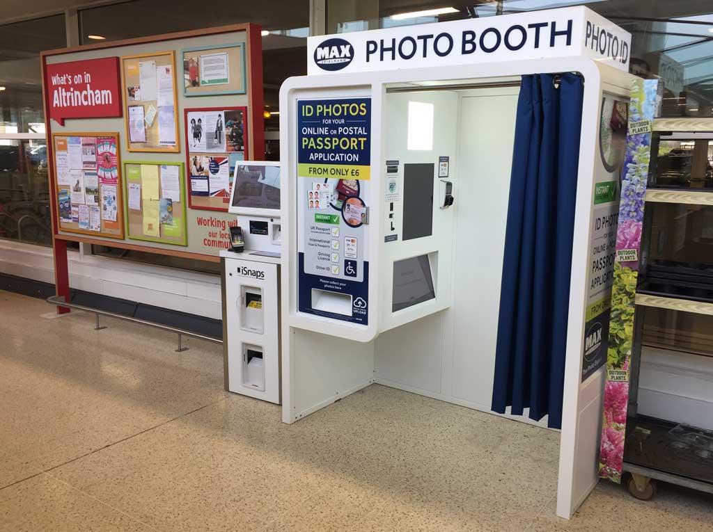 Passport photobooth